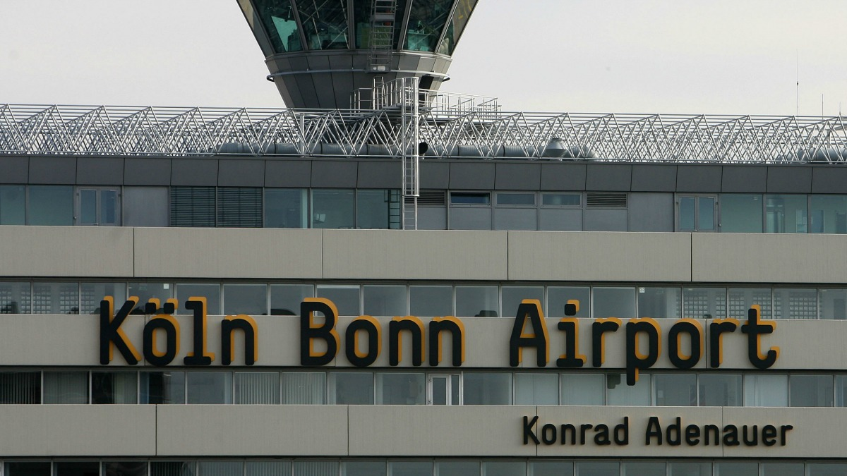 Germany's Cologne Bonn Airport is pictured in this November 2010 file photo.
