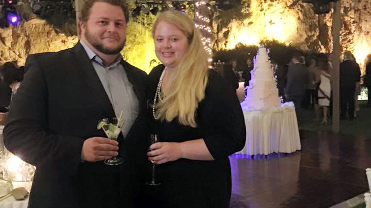 This 2015 family photo shows Alexander Pinczowski and Cameron Cain in Greece. Belgian authorities and the Dutch Embassy positively identified the remains of Alexander Pinczowski, and his sister, Sascha Pinczowski, who died in the terrorist bombings in Brussels.