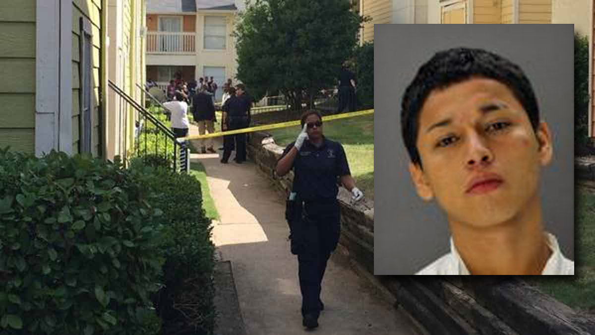 Angel Lizandro Sanches-Zenteno, 17, inset, has been arrested and charged with capital murder in the killing of his 5-year-old cousin Kathrine Alejandra Gonzalez