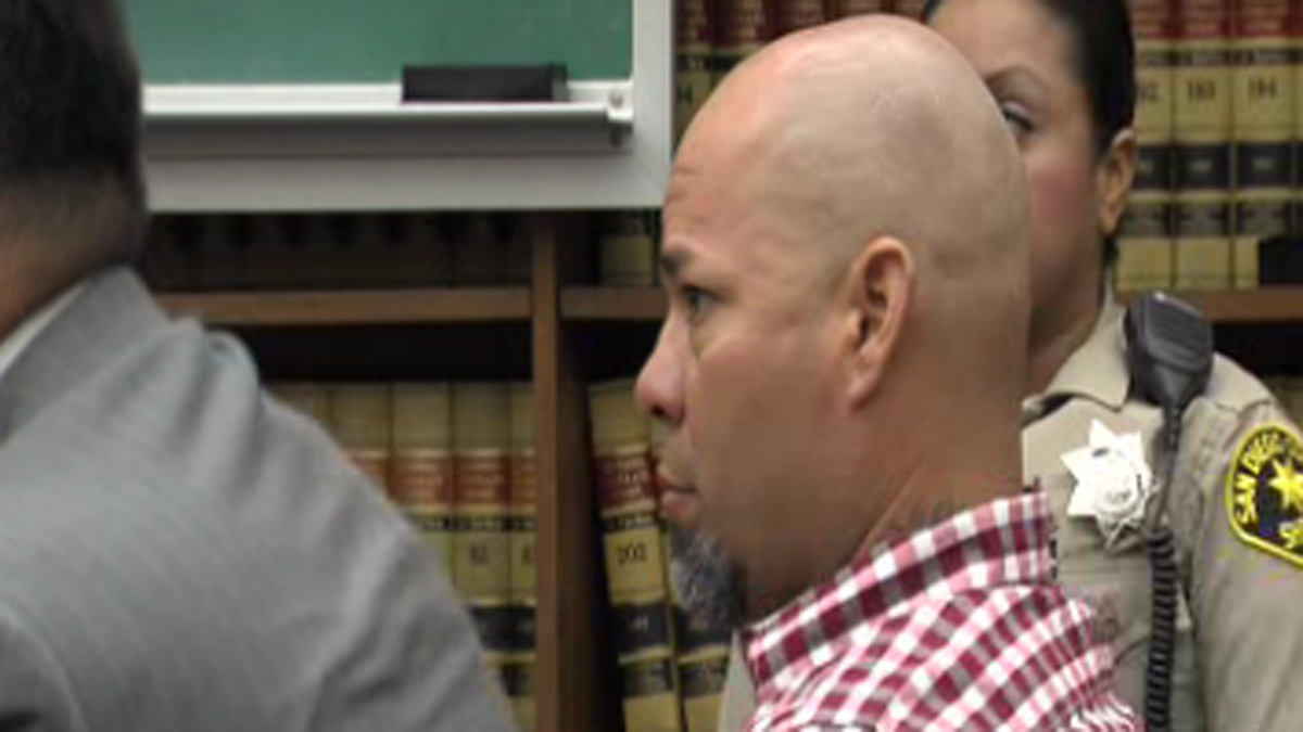 Angelo Fabiani Arroyo appears in court for his preliminary hearing on September 17, 2013.