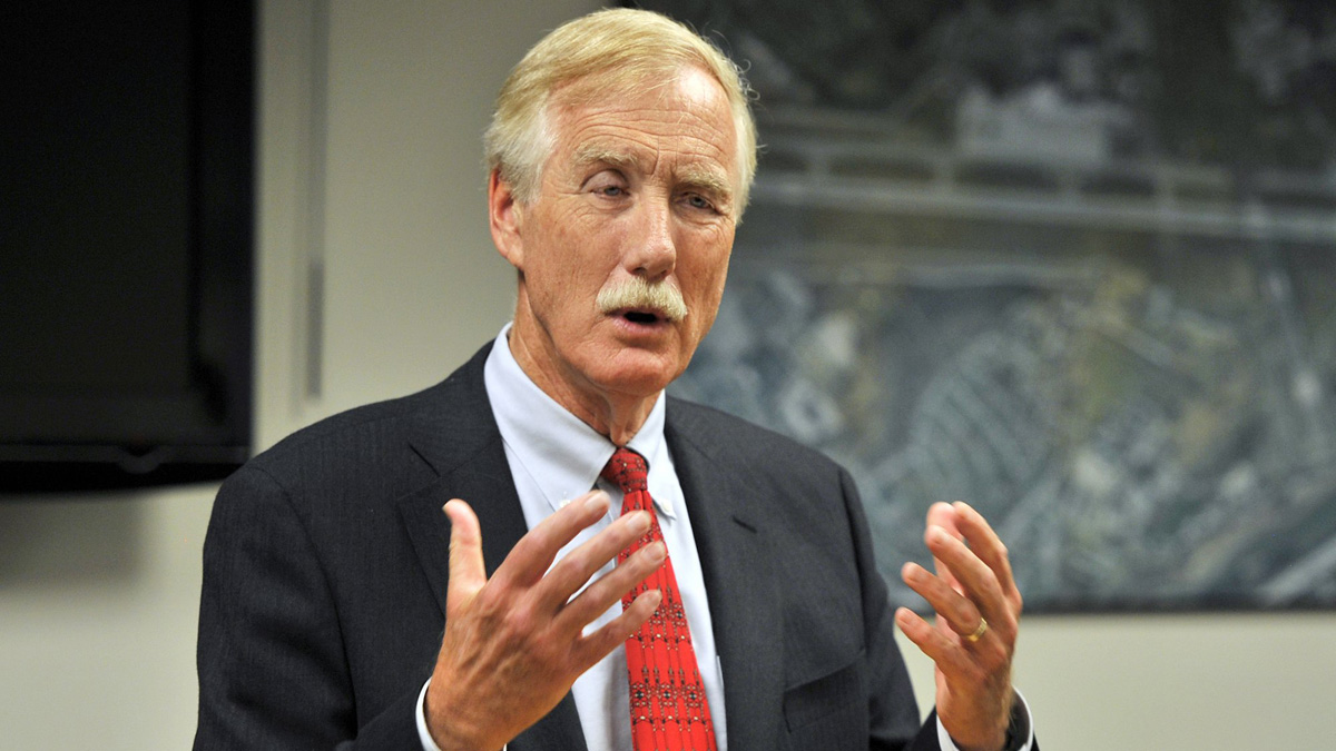 Sen. Angus King (ME-I), announced Monday he has prostate cancer and will be undergoing surgery Friday. He added he has no plans to abandon his re-election campaign in 2018.