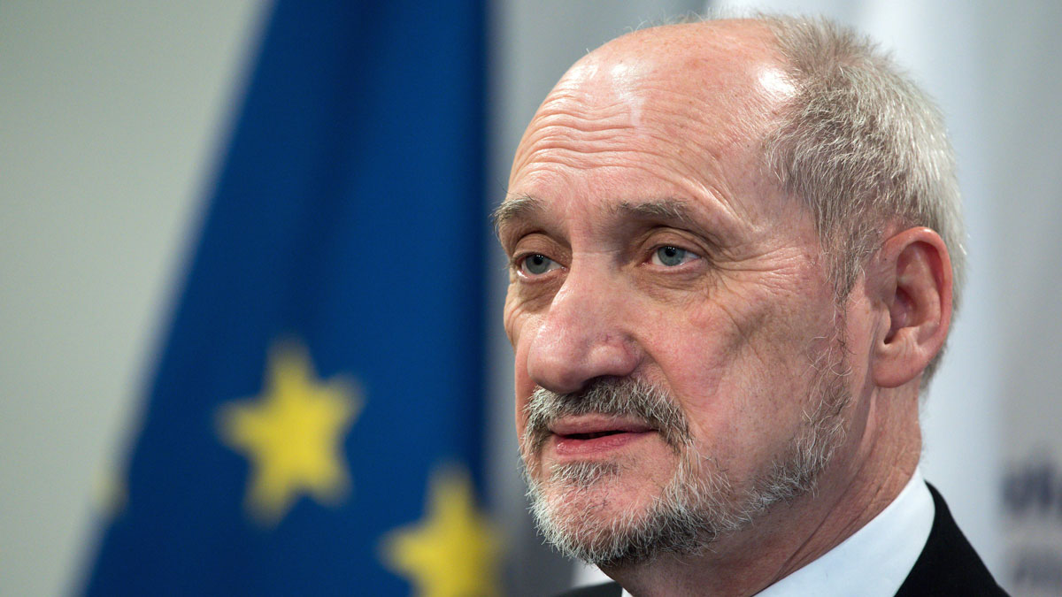Polish Defense Minister Antoni Macierewicz suggested in a speech that the death of president Lech Kaczynski in a 2010 plane crash in western Russia was the result of foul play.