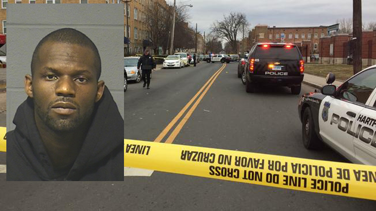 Antron Gore is accused of shooting 37-year-old Jason Reddick on Albany Avenue near Garden Street in January.
