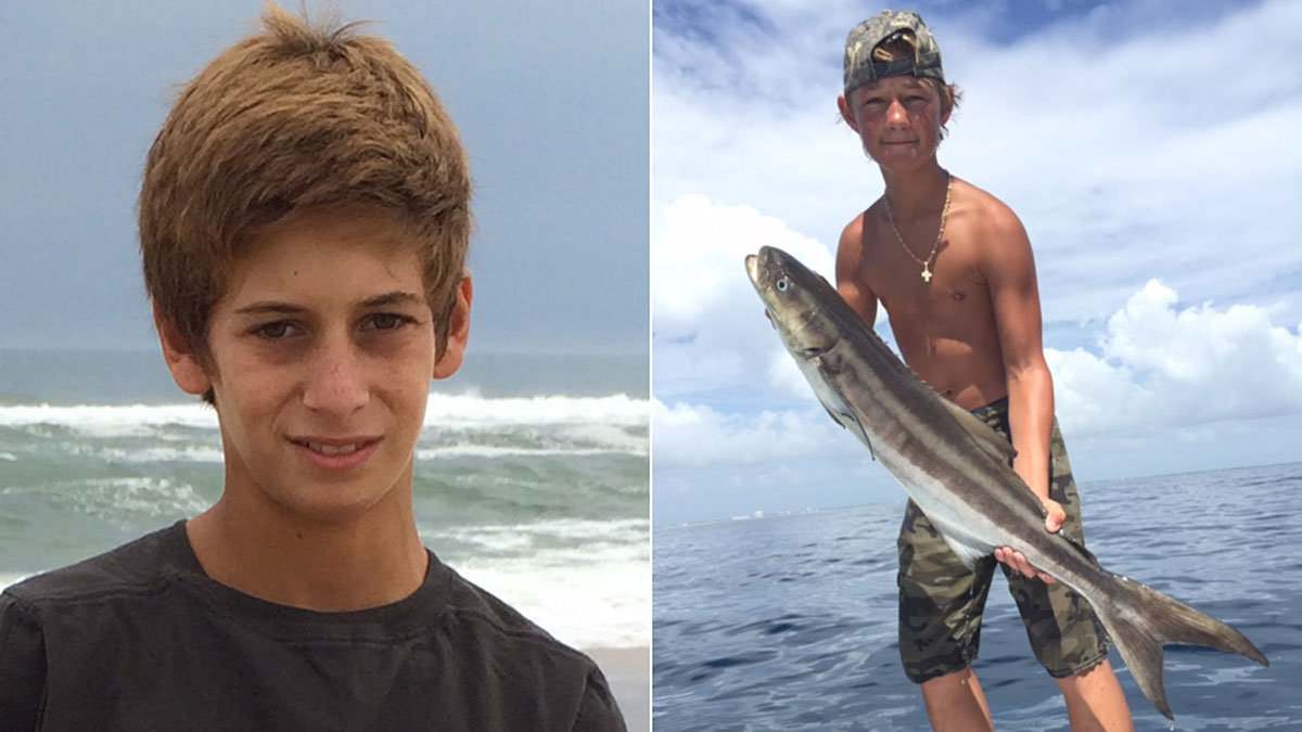 This combination made from photos provided by the U.S. Coast Guard shows Perry Cohen (left) and Austin Stephanos (right), both 14 years old. Cohen and Stephanos were last seen Friday afternoon, July 24, 2015, in the Jupiter, Florida, area buying fuel for their 19-foot boat before embarking on a fishing trip.