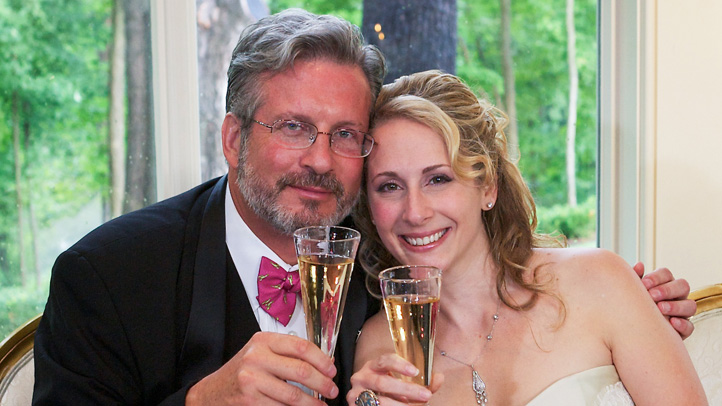 Dr. William Petit and Christine Paluf were married on Aug. 5 in West Hartford.