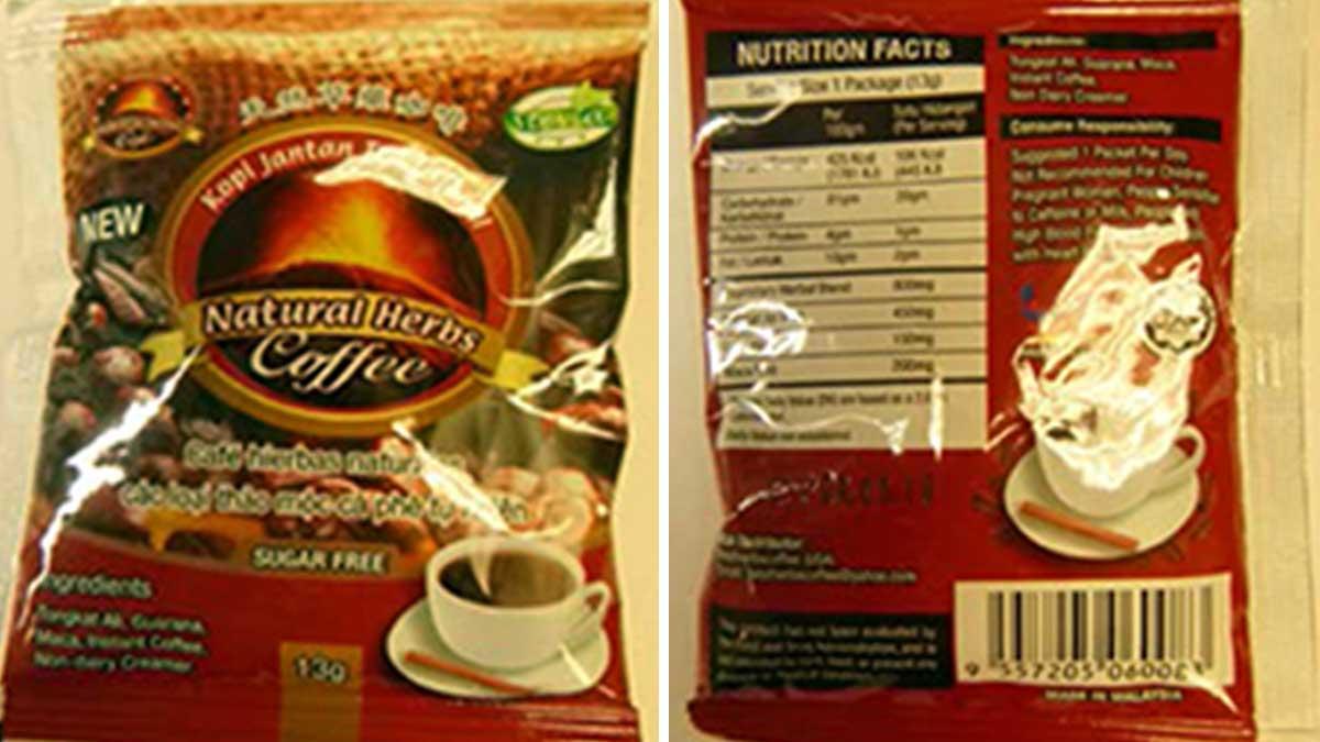 Bestherbs Coffee LLC, in Grand Prairie, voluntarily recalled all of its