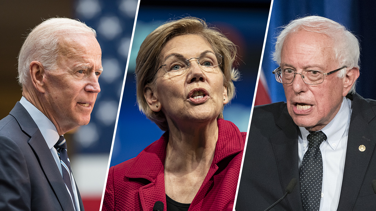 NBC News Poll: Biden, Sanders and Warren Lead 2020 Field