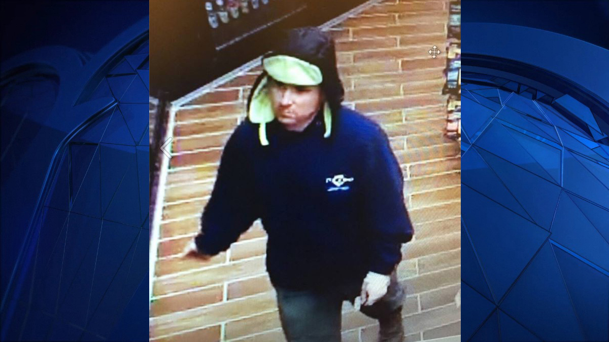 Bethel police have arrested Maxwell Mulligan, 32, on robbery charges after they say surveillance footage shows Mulligan robbing the Wheels convenience store on Stony Hill Road Wednesday.