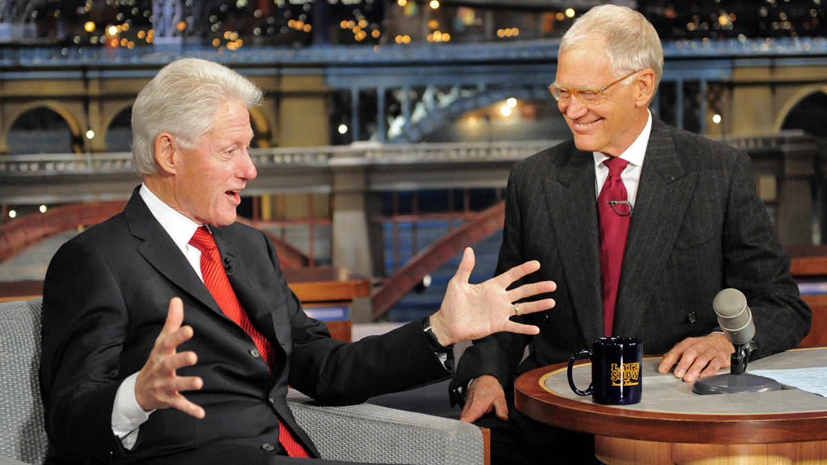 Former President Bill Clinton admitted to David Letterman Monday night that he doesn't know whether his wife, Hillary Clinton, is planning a run for the White House in 2016