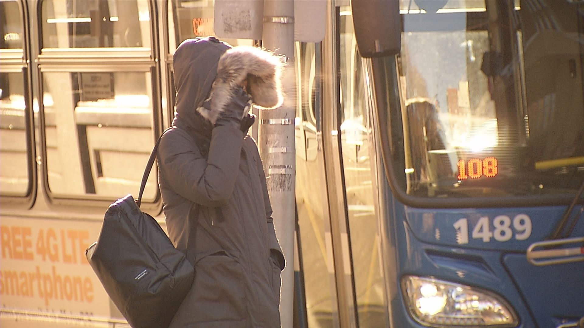 People are dealing with the brutal cold after an unusually warm start to winter.