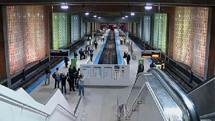 The Blue Line O'Hare stop was back open for business on Saturday.
