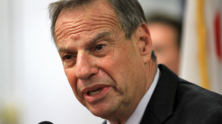 San Diego Mayor Bob Filner as he announces he will undergo intense therapy in response to sexual harassment allegations.