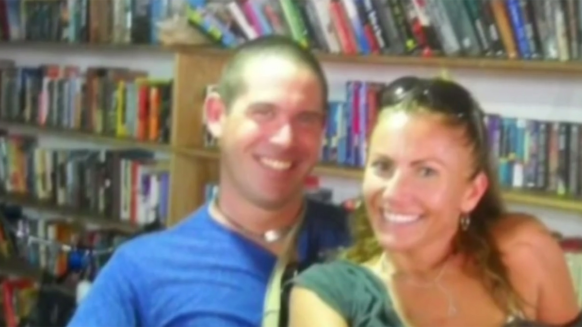 Brian Brimager (left) was sentenced to 26 years in prison for killing his girlfriend, Yvonne Baldelli (right), while on a trip in Panama together in November 2011.