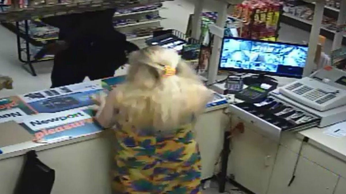 Bridgeport police are asking for help from the public to identify the man who robbed Success Market around 10 p.m. on Monday.