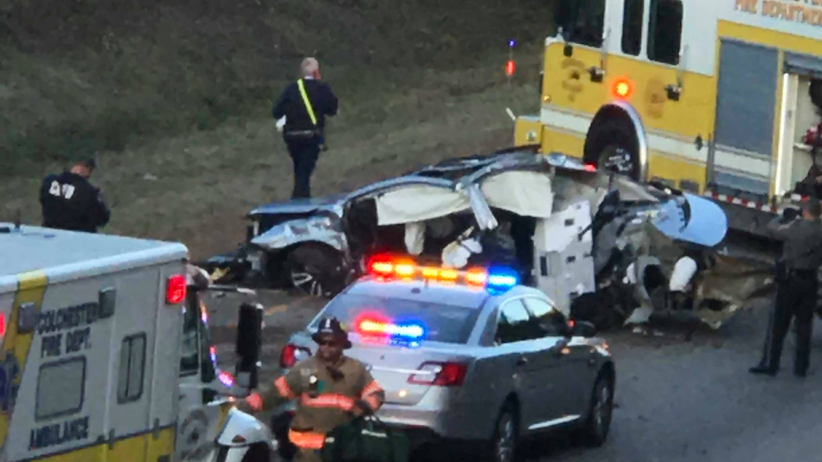 A serious crash on Route 2 in Colchester Wednesday afternoon.