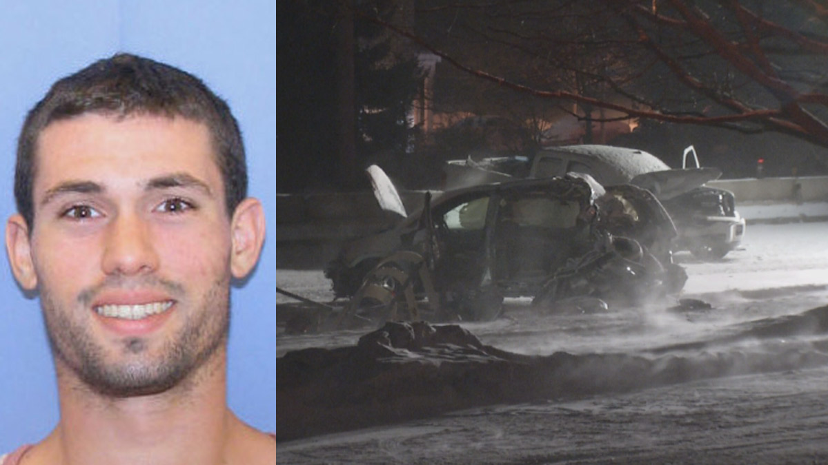 Thomas Muir, 25, of Media, Pennsylvania was arrested after his truck slammed into a minivan, killing two teenagers and injuring four other people, according to investigators.