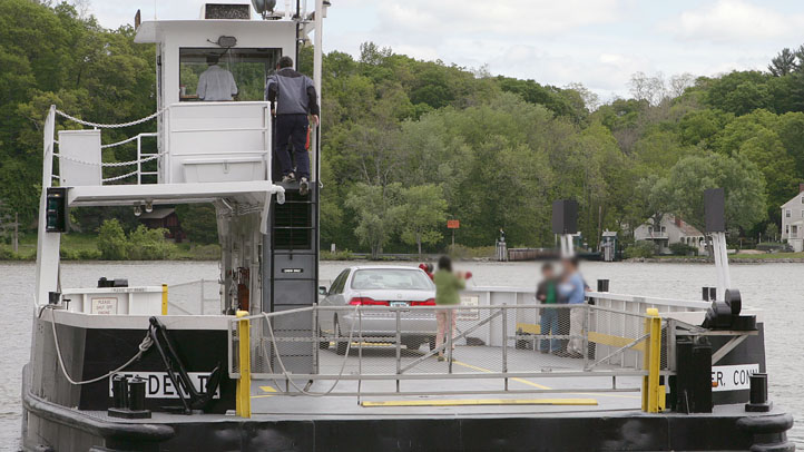 The Chester Hadlyme Ferry is closed because of mechanical problems.