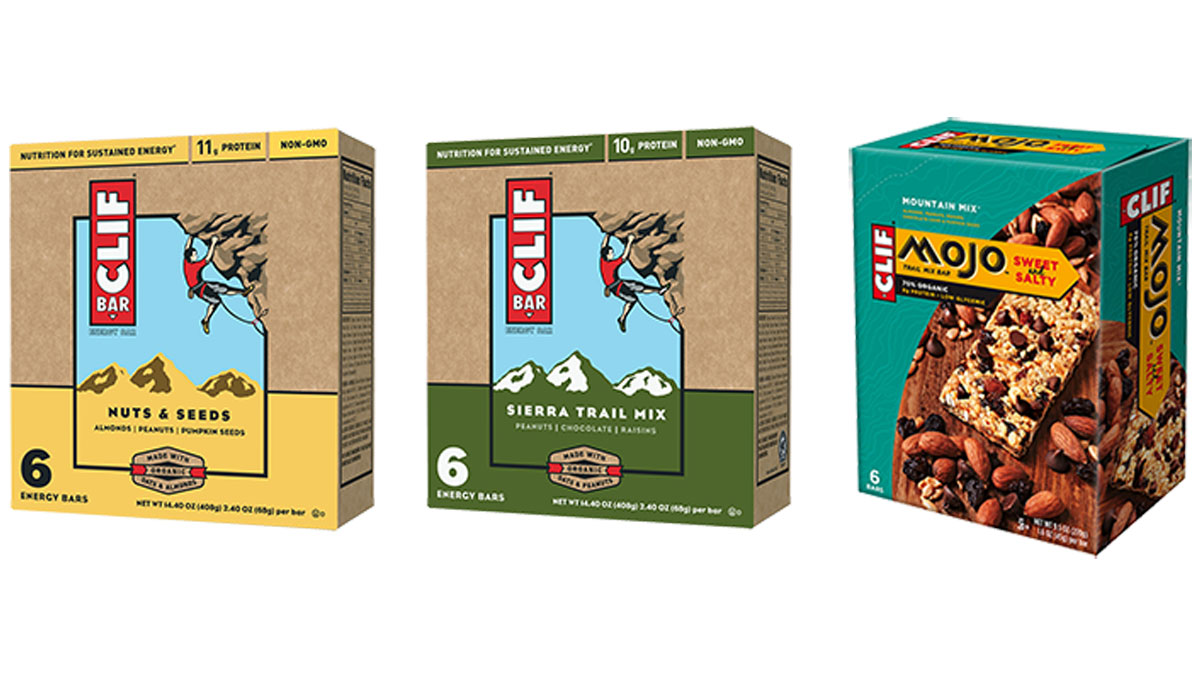 Three Clif Bar products are being recalled over sunflower seeds that may be contaminated with listeria.