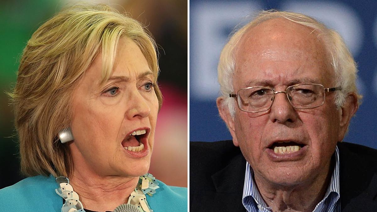 Hillary Clinton y Bernie Sanders estarán frente a frente, este martes en Las Vegas.