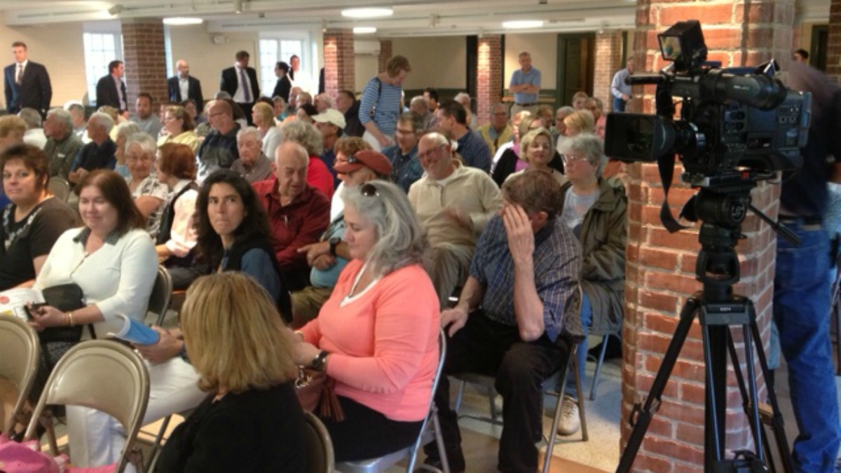 Clinton residents are opposing a proposed propane facility.