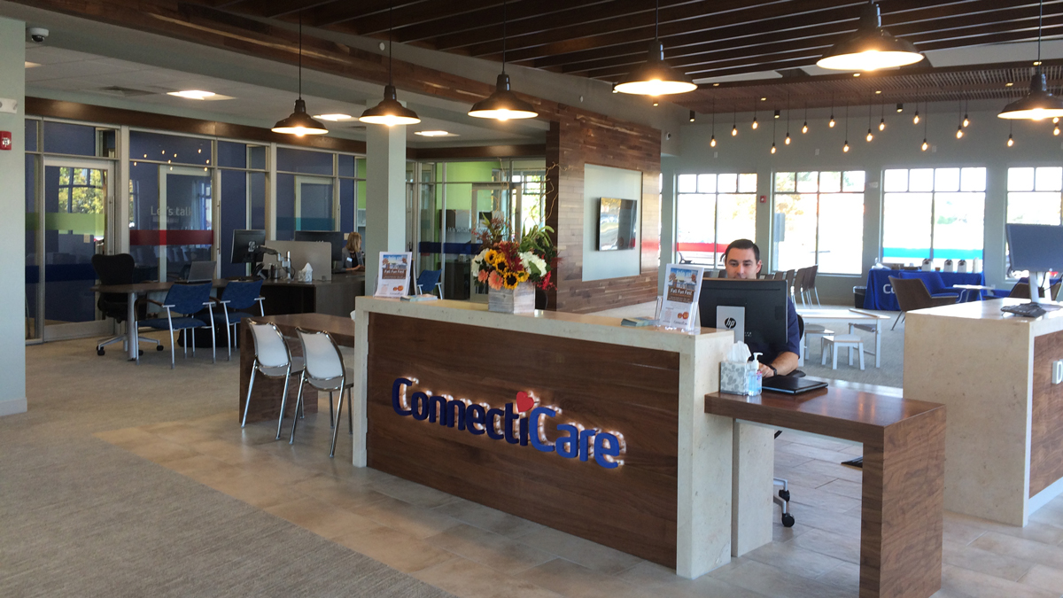 A look inside ConnectiCare's retail store in Manchester