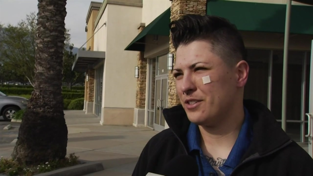Army Reserve Sgt. Kendall Oliver, an veteran who saw a tour in Afghanistan, is suing a Rancho Cucamonga barbershop that refused to give him a haircut.
