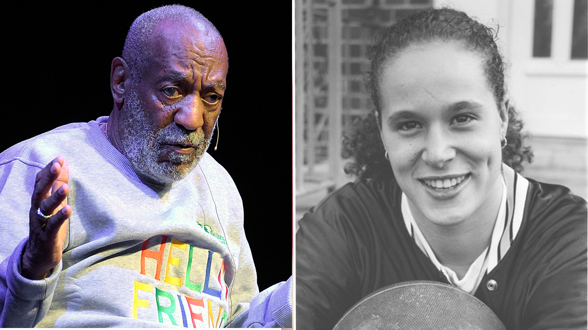 Bill Cosby was charged on Dec 30, 2015 with sexually assaulting Andrea Constand, right, in his home.