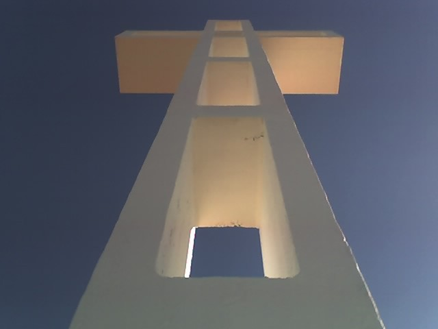 The veterans group views the cross as an