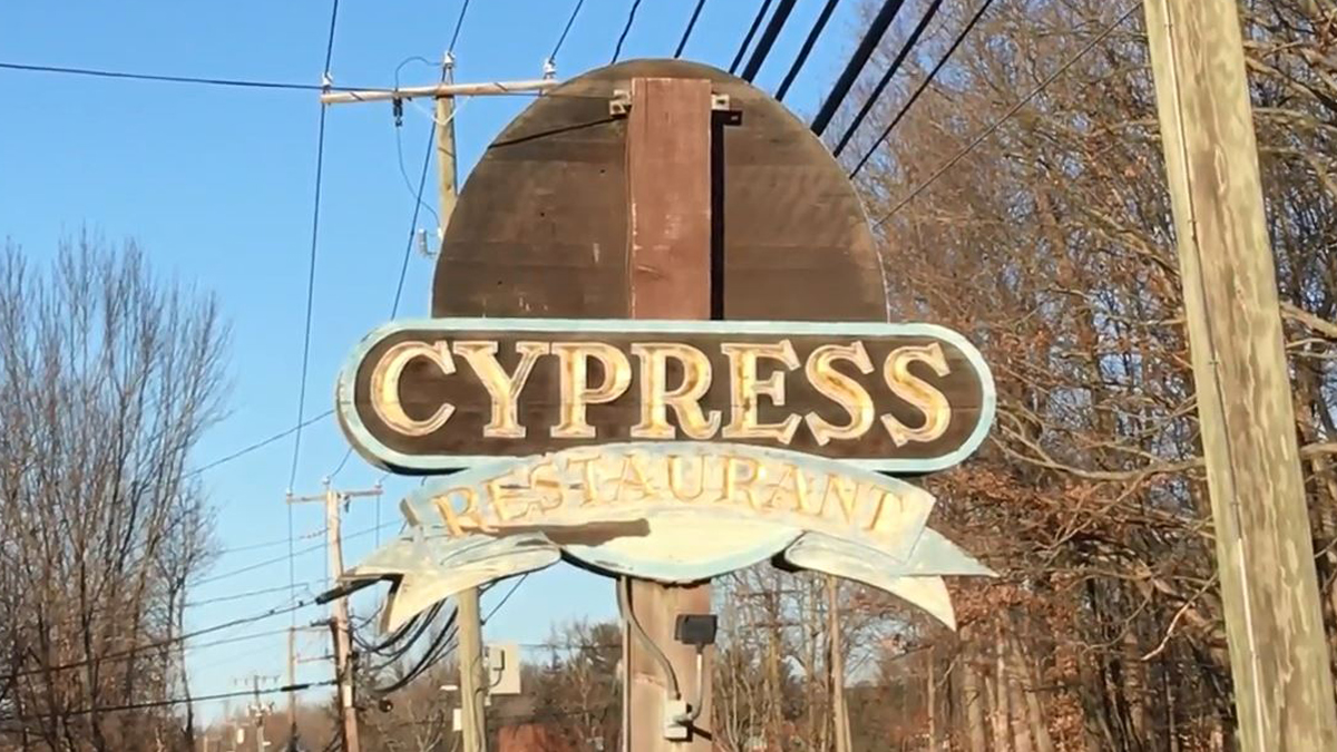 The Cypress Restaurant on South Main Street in Middletown.