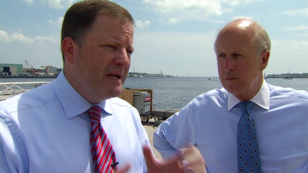 John McKiinney (left), pictured here with running mate Dave Walker, has conceded the primary election for GOP gubernatorial candidate.