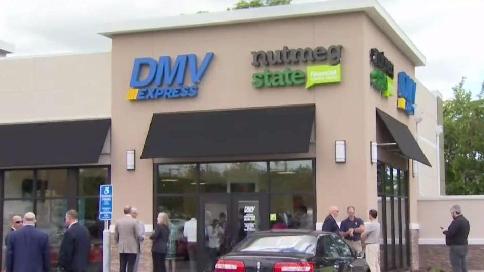 This is ta different Connecticut DMV Express office. The new one will open in Stanford.
