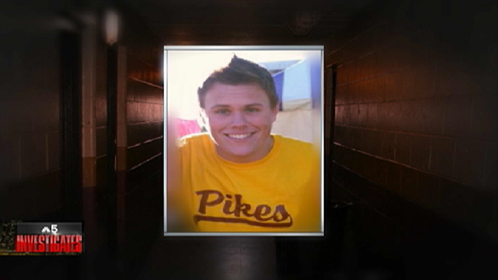 David Bogenberger was 19-years-old when he died at the fraternity house.