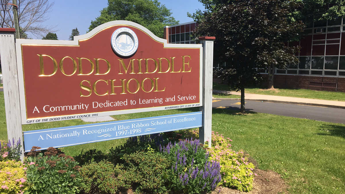 Dodd Middle School in Cheshire