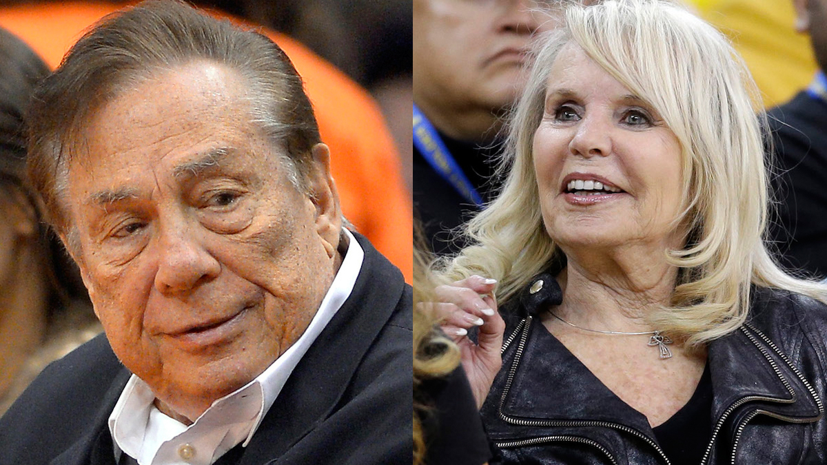 Donald Sterling, Shelly Sterling, Clippers