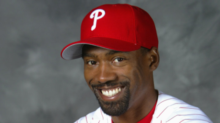 Doug Glanville is pictured during his days with the Philadelphia Phillies.