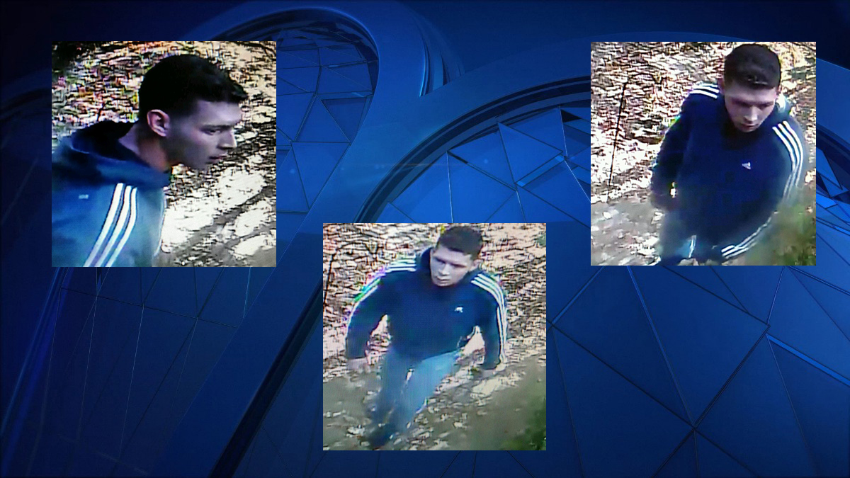 The subject pictured above is a suspect in a Durham home burglary, according to state police.