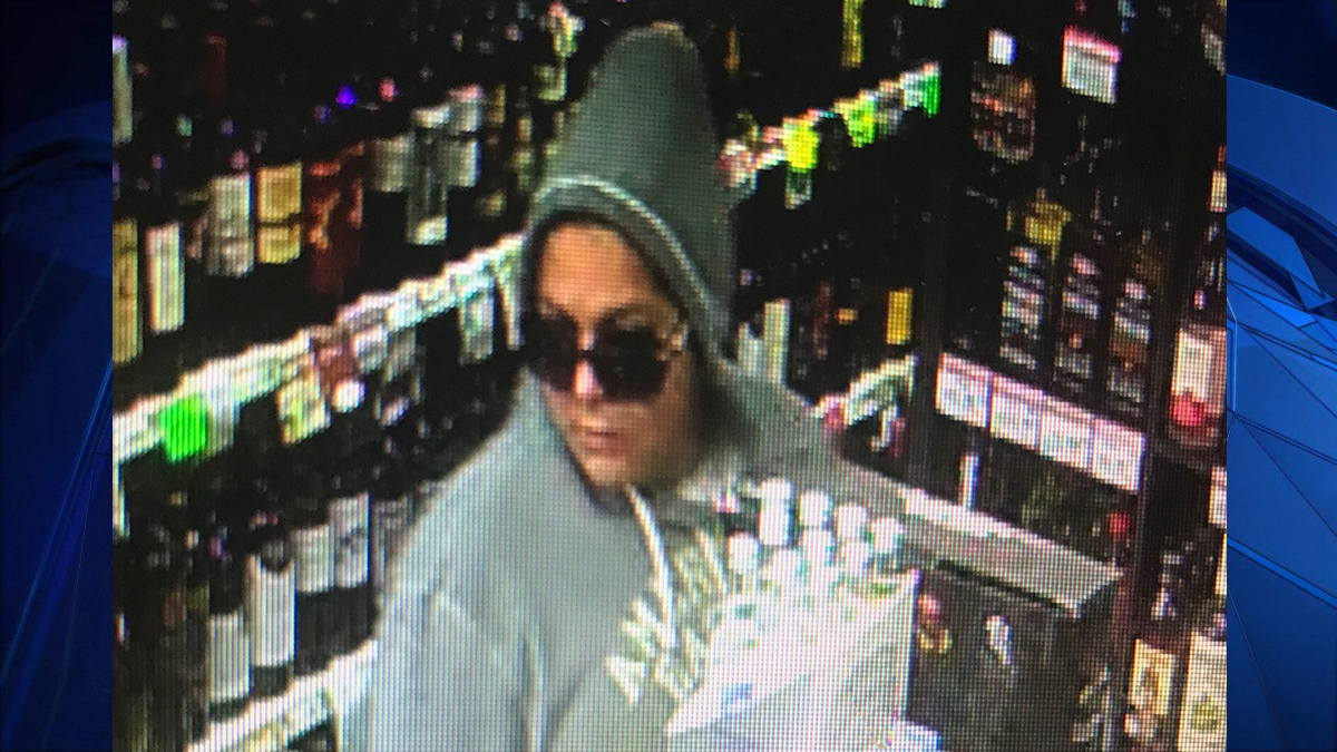 East Haven police say the woman pictured above stole a donation jar off the counter at East Haven Discount Wine and Liquors Thursday afternoon.