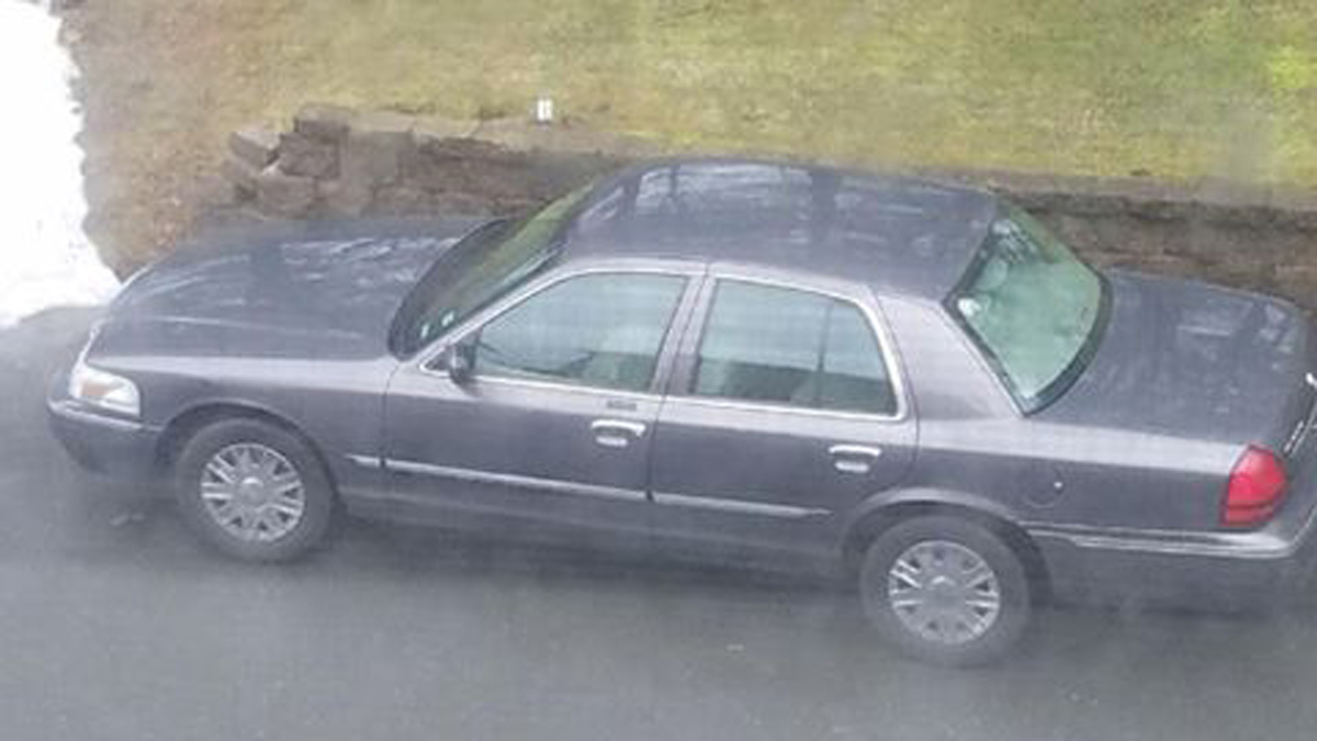East Windsor police said a suspect in a residential burglary the Greenwoods condominium complex off Route 5 fled in this vehicle Tuesday.