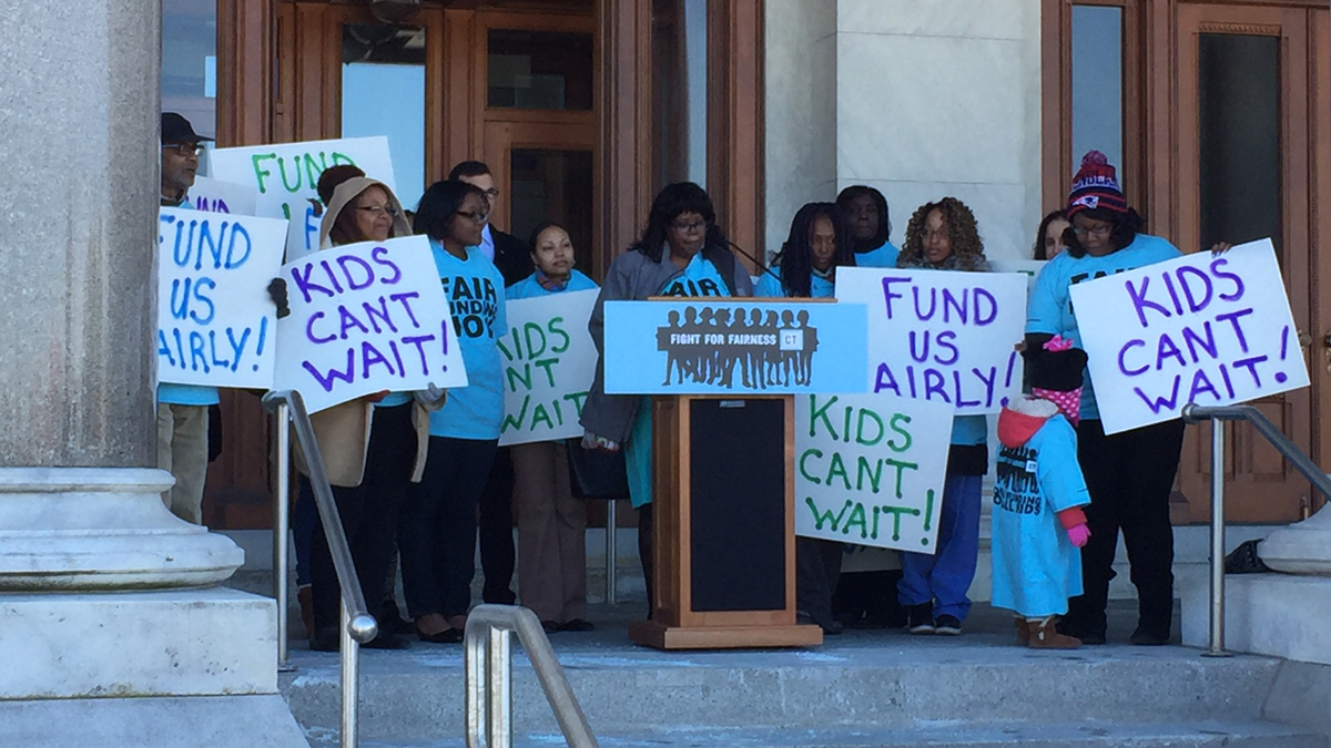 State lawmakers, school leaders and parents rallied in support of funding for public schools of choice at the Capitol on Monday.
