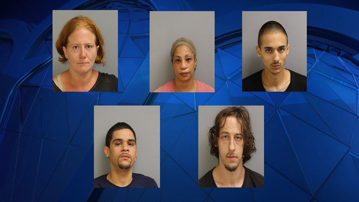 Enfield Police Make 9 Arrests During Thompsonville Crackdown