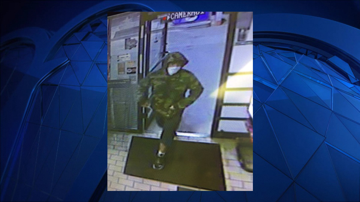 Connecticut State Police say the person pictured above robbed the Mobil Gas Station at 55 Main Street in Essex Sunday.