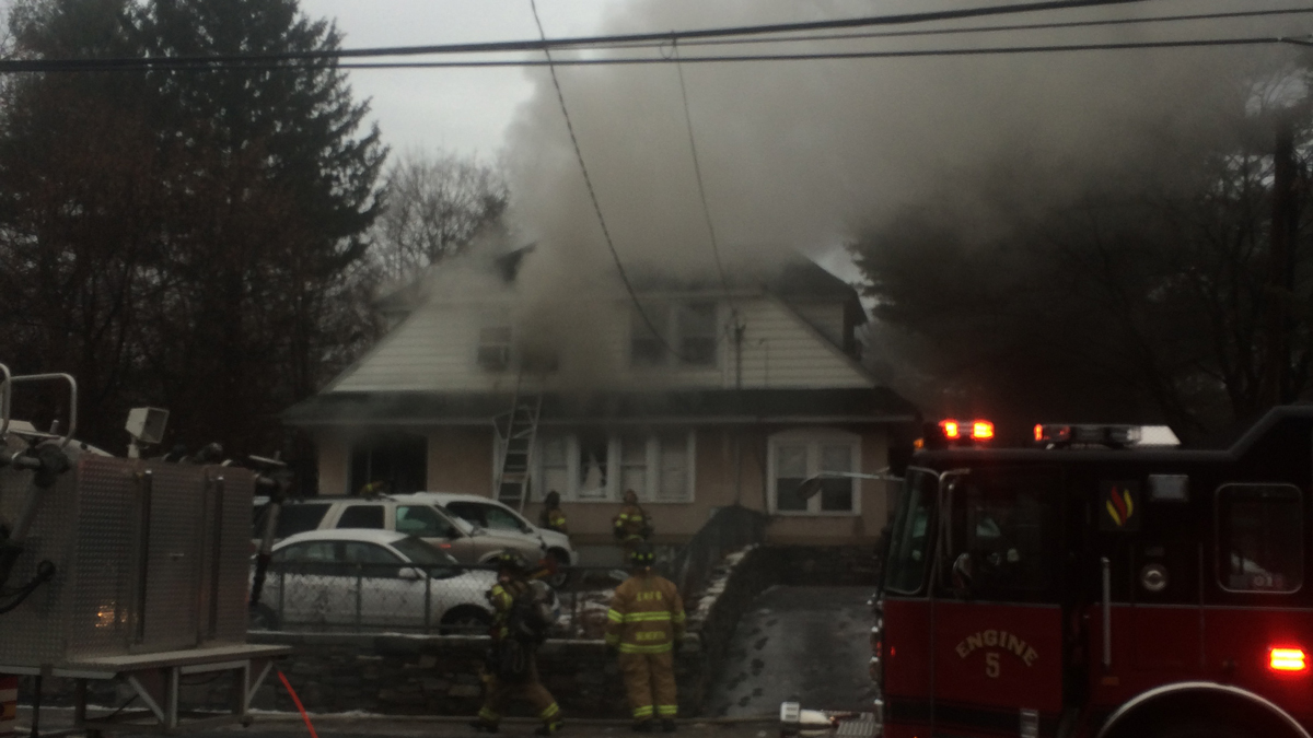 Emergency crews responded to a fire on High Street in East Hartford Monday morning.