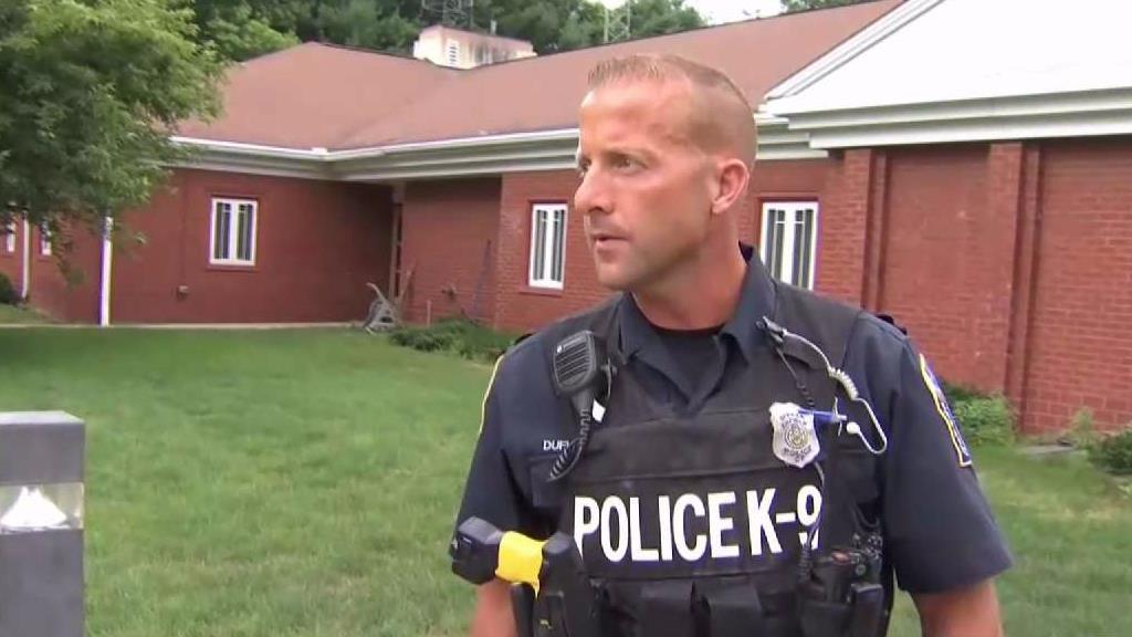 Enfield Police K9 Officer Chris Dufresne