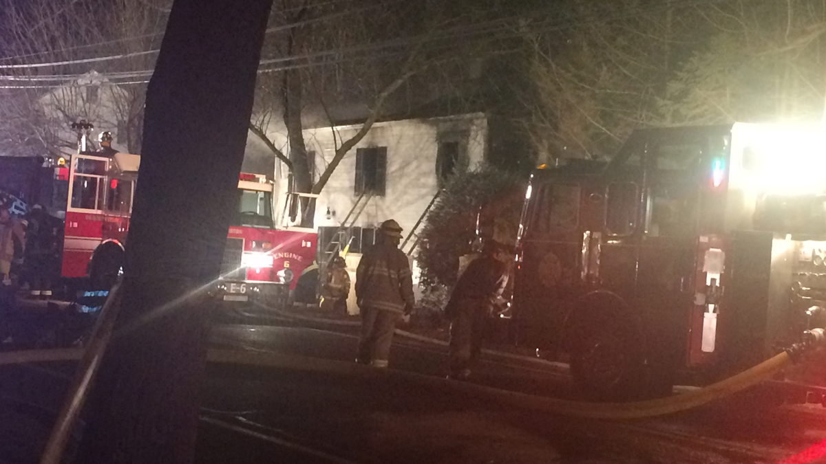 Fire severely damaged a historic home on Route 10 in Farmington Sunday morning.