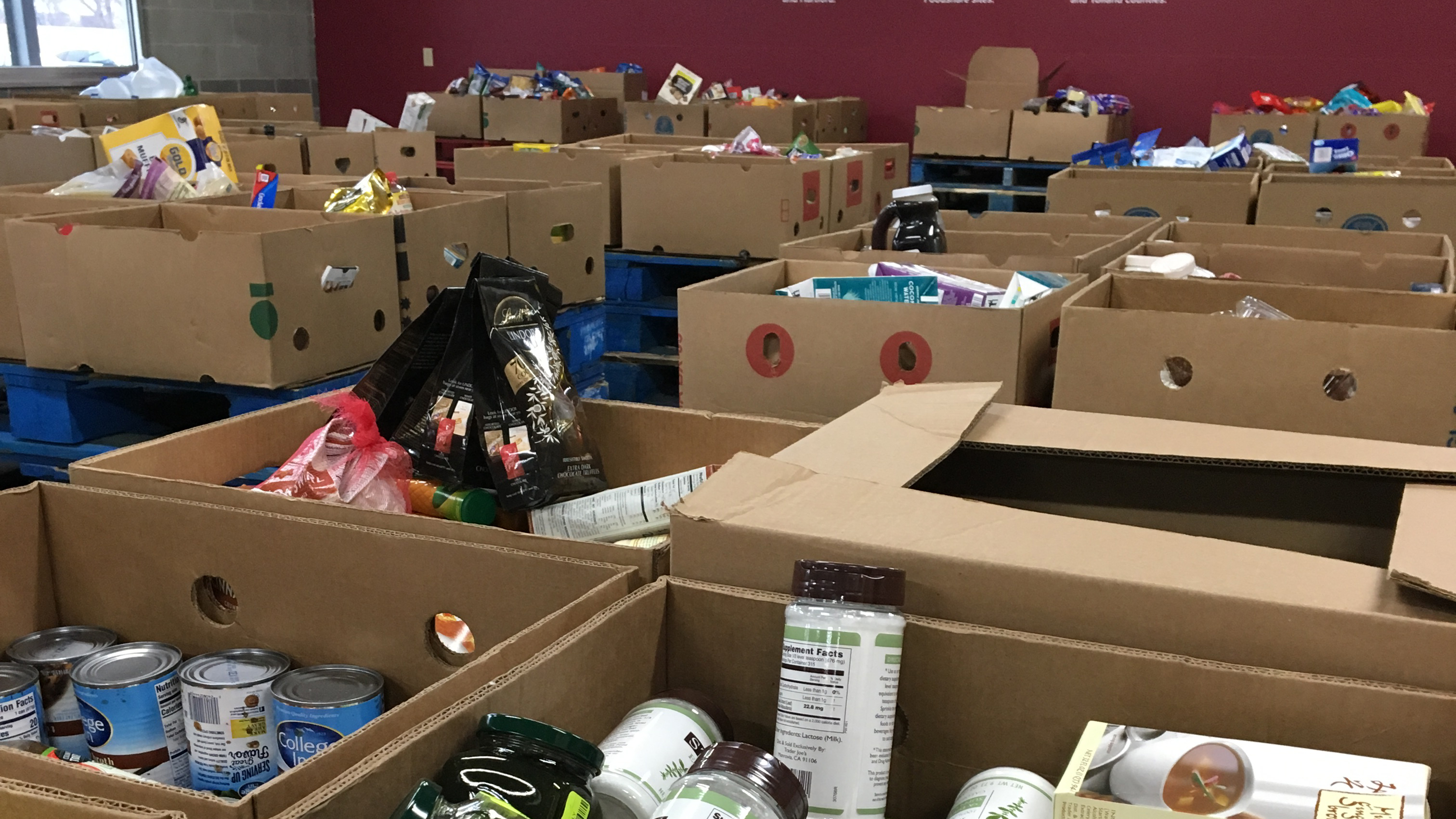 Foodshare, a food bank serving Hartford and Tolland counties, provided 14 million meals last year.