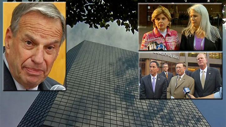 Mayor Filner met with key stakeholders Monday, Aug. 19 in a mediation session. None of the participants would disclose what was discussed.