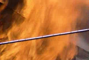 Fire broke out at a power plant in Sterling this morning.
