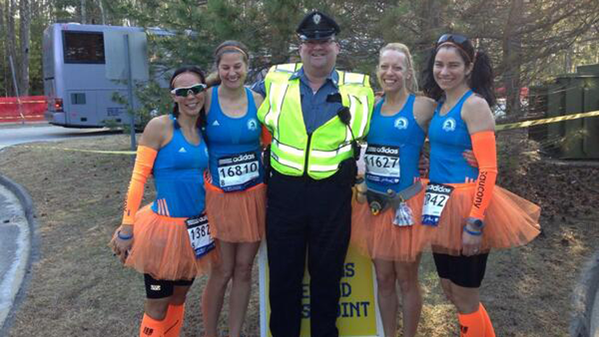 A group of runners from Fleet Feet in West Hartford is running the Boston Marathon.