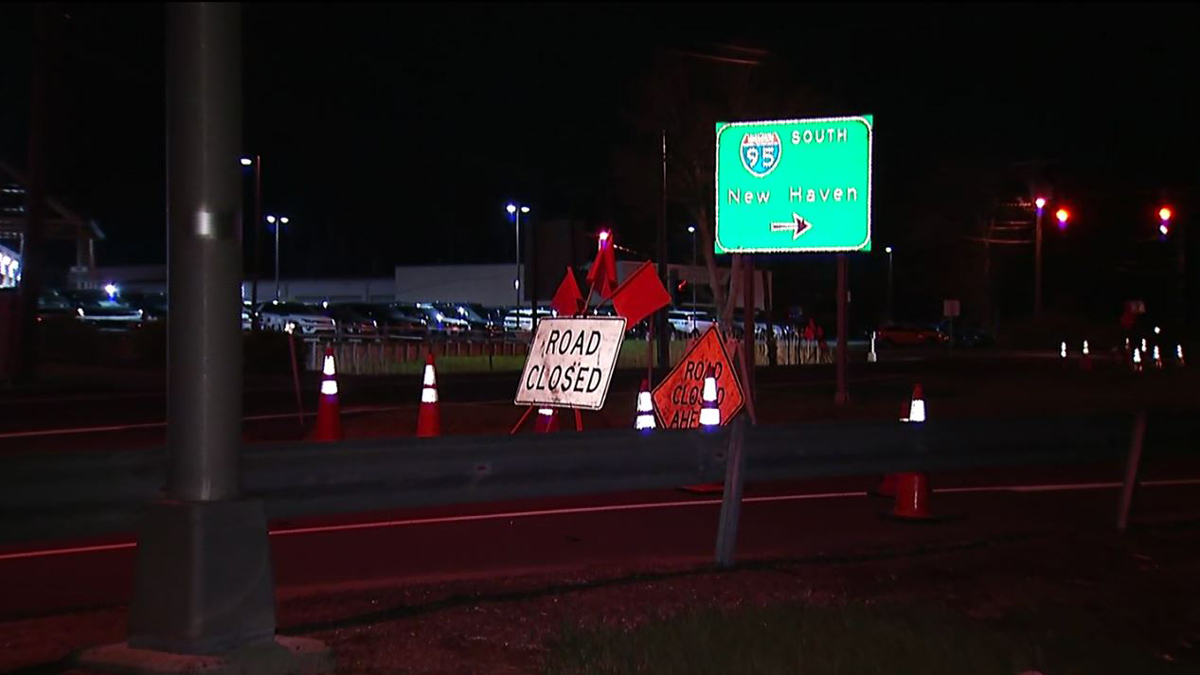 I-95 south in Guilford was closed overnight while Connecticut State Police investigated a fatal crash.