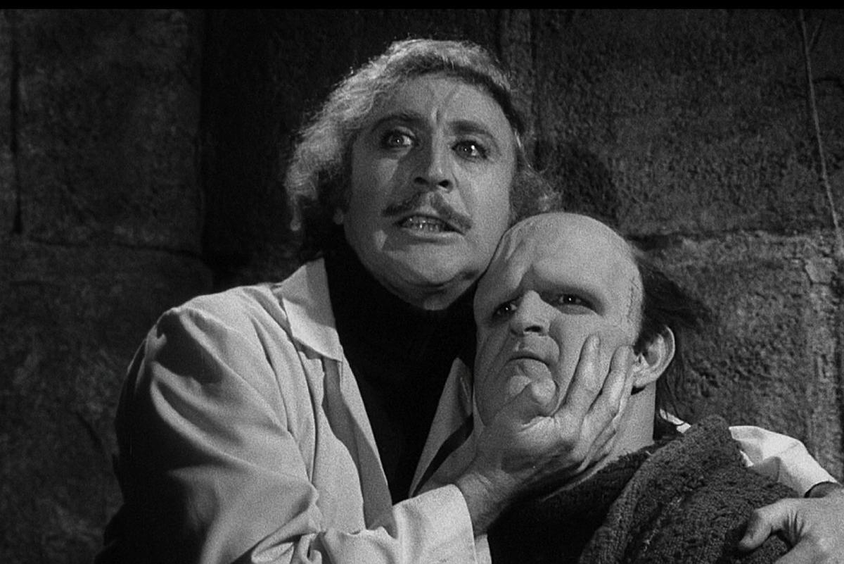 Gene Wilder and Peter Boyle in
